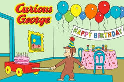 Fun Rugs Curious George Birthday CG-03 Area Rug