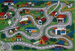 Fun Rugs Fun Time Country Fun FT-003 Multi Area Rug