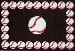 Fun Rugs Fun Time BASEBALL TIME FT-91 Multi Area Rug