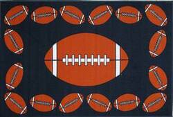 Fun Rugs Fun Time FOOTBALL TIME FT-92 Multi Area Rug