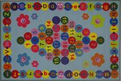 Fun Rugs Fun Time Happy Learning FT-97 Multi Area Rug
