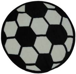 Fun Rugs Fun Time Shape Soccerball FTS-007 Multi Area Rug
