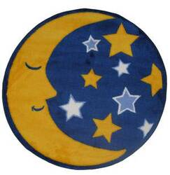 Fun Rugs Fun Time Shape Moon & Stars FTS-123 Multi Area Rug
