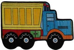 Fun Rugs Fun Time Shape Dump Truck FTS-132 Multi Area Rug
