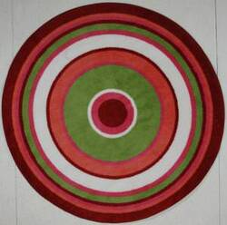 Fun Rugs Fun Time Shape Concentric 3 FTS-151 Multi Area Rug