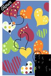 Fun Rugs Night Flash NF-16 Multi Area Rug