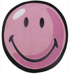 Fun Rugs Smiley World Smiley Round SW-12 Pink Area Rug