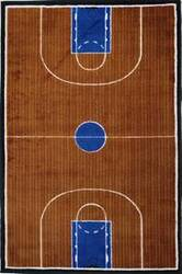 Fun Rugs Supreme Basketball Court TSC-152 Multi Area Rug