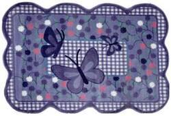 Fun Rugs Supreme Purple Butterfly TSC-225 Multi Area Rug