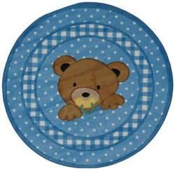 Fun Rugs Supreme Teddy Center Blue TSC-239 Multi Area Rug
