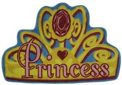 Fun Rugs Supreme Shy Princess TSC-258 Multi Area Rug