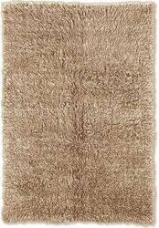 Linon Flokati 3A 2000 Grams Tan Area Rug
