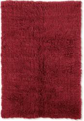 Linon 3a Flokati Flk-3ar01 2000grams / Red Area Rug