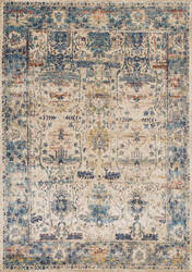 Loloi Anastasia Af-07 Sand - Light Blue Area Rug