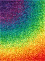 Loloi Barcelona Shag BS-01 Rainbow Area Rug