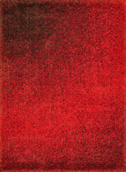Loloi Barcelona Shag BS-01 Red / Brown Area Rug
