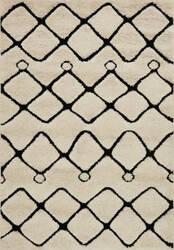 Loloi Enchant En-25 Ivory - Black Area Rug