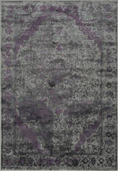 Loloi Elton EO-03 Pewter / Purple Area Rug