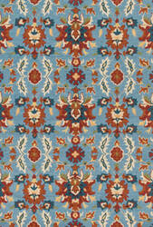 Loloi Francesca Fc-59 Light Blue - Spice Area Rug
