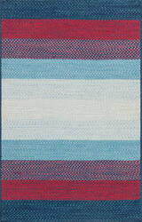 Loloi Garrett Ga-05 Blue - Red Area Rug
