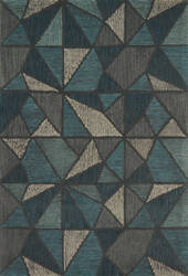 Loloi Gemology Gq-01 Teal - Grey Area Rug