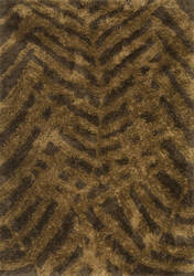 Loloi Garden Shag Gn-03 Brown / Bronze Area Rug