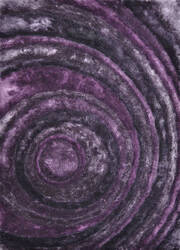 Loloi Glamour Shag Gs-04 Eggplant Area Rug