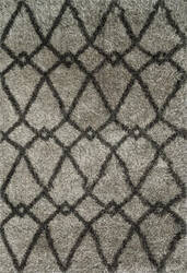 Loloi Cosma CO-01 Grey / Charcoal Area Rug