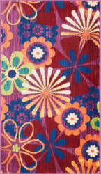 Loloi Isabelle IS-01 Pink / Multi Area Rug