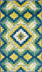 Loloi Isabelle IS-03 Ivory / Green Area Rug