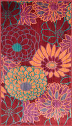 Loloi Isabelle IS-05 Red / Multi Area Rug