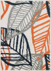 Loloi Terrace TC-17 Ivory / Orange Area Rug