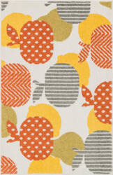 Loloi Tilley TI-09 Ivory / Orange Area Rug