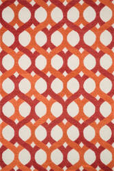 Loloi Weston Hws04 Red / Orange Area Rug