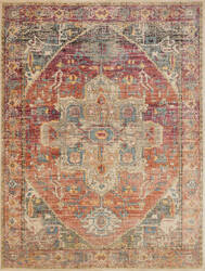 Loloi Javari Jv-08 Berry - Sunrise Area Rug