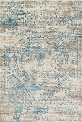 Loloi Kingston Kt-05 Ivory - Blue Area Rug