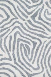 Loloi Kiara Shag Kr-02 Ivory - Grey Area Rug