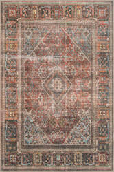 Loloi Loren Lq-13 Brick - Midnight Area Rug