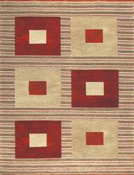 Loloi Meridian ME-02 Red Gold Area Rug