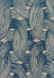 Loloi Newport Np-01 Blue - Teal Area Rug