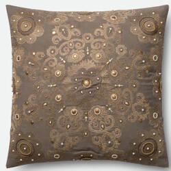 Loloi Pillow P0440 Grey - Gold