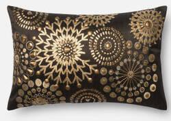 Loloi Pillow P0441 Brown - Gold