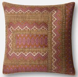 Loloi Pillow P0497 Pink - Rust