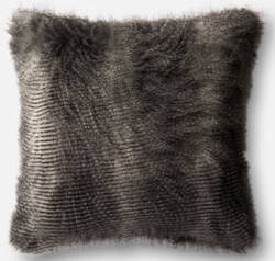 Loloi Pillow P0472 Black - Grey