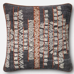 Loloi Pillow P0378 Blue - Rust