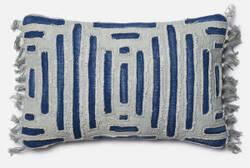 Loloi Pillow P0405 Blue - Grey