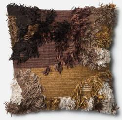 Loloi Pillow P0415 Walnut
