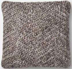 Loloi Pillows P0536 Grey