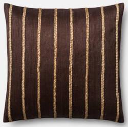 Loloi Pillow P0443 Brown