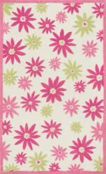 Loloi Piper PI-10 Pink / Green Area Rug
